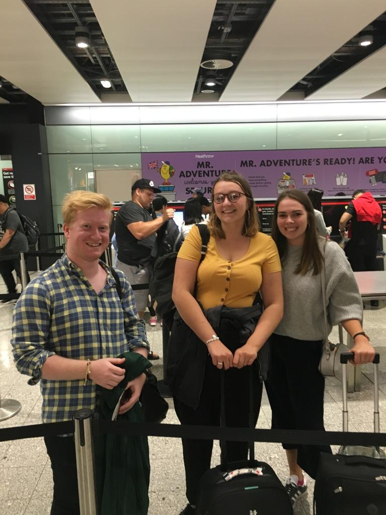Leaving Heathrow Airport for Shanghai China