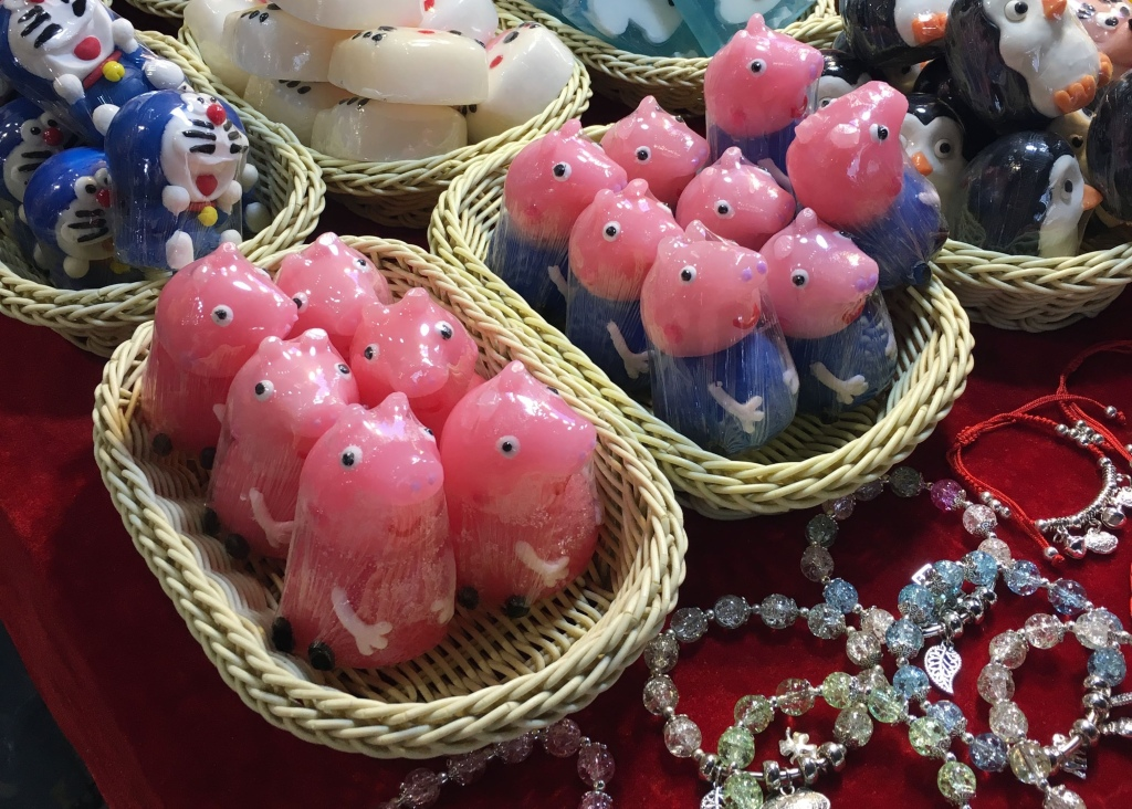 Peppa Pig and George soaps in China