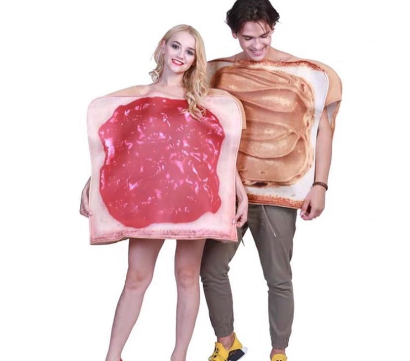 Peanut butter and jam costume from Taobao